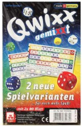 029-4033 Qwixx Gemixxt - 2 neue Spielva