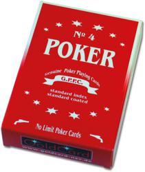 029-9001 Pokerkarten No 4 -Classic- in