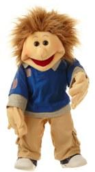 037-W408 Erik, Junge 65cm Living Puppet