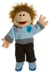 037-W410 Thilo 45 cm Living Puppets® Ha