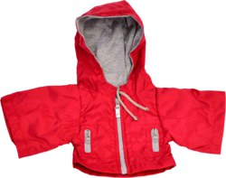 037-W704 Rote Jacke 45cm Matthis Living
