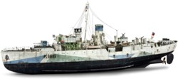 041-00451 Flower Class Corvette - Techni