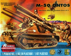 041-17823 M-50 Ontos Ltd Edt Revell Mono