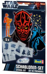 041-30206 Schablonen-Set Star Wars II Re