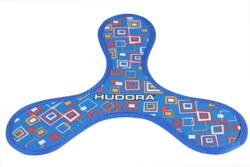 057-76447 Frisbee Boom Bang flat Hudora,