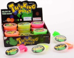 062-24290 Glow in the dark Spring Knete