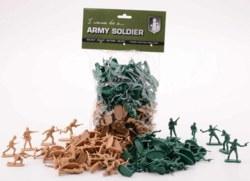 062-26172 100 Soldaten in der Tüte John