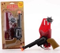 062-26267 Cowboypistole mit Geräuschen J