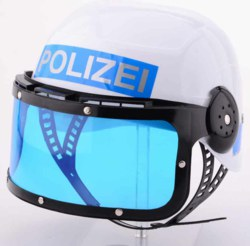 062-26552 Polizeihelm  John Toy, ab 3 Ja