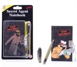 062-26684 Agenten-Stift mit Notizbuch Jo