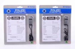 062-26843 Polizeistrafzettel, 50 Seiten