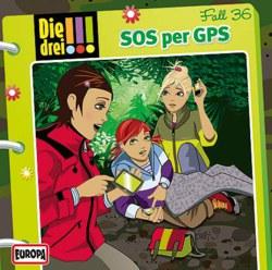 064-03785 Die drei !!! CD 36 SOS per GPS