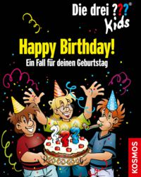 064-145579 Die drei ??? Kids Happy Birthd