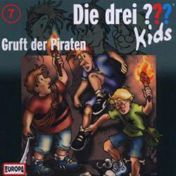 064-40072 Die drei ??? Kids CD 7 Gruft