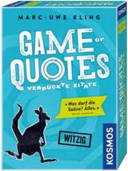 064-692926 Game of Quotes - Verrückte Zit