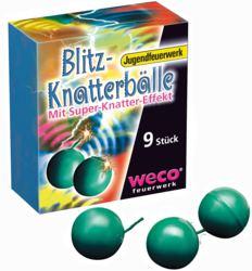 079-01618 Blitz-Knatterbälle Weco Jugend