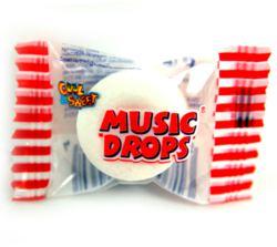 079-99552 Musik Drops 1 Stück a 3,4 gr A