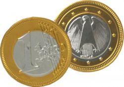 079-99588 Goldmünzen aus Milchschokolade
