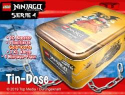 089-180378 Lego Ninjago Serie 4 - Tin Dos