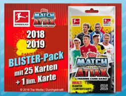089-304992 Match Attax Blisterpack 2018/2