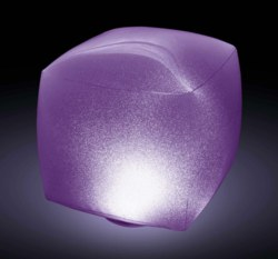 099-28694 Floating LED Cube mit Farbwech