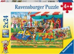 103-090839 Puzzle - Bei den Rittern 2 x 2