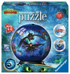 103-11144 Dragons 3 - 3D Puzzleball Rave