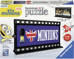 103-112074 3D Puzzle, Filmstreifen Minion