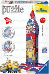 103-125890 Big Ben London Minions Edition