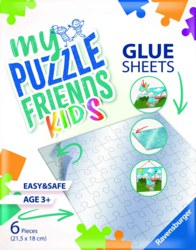 103-13301 My Puzzlefriends Glue Sheets -