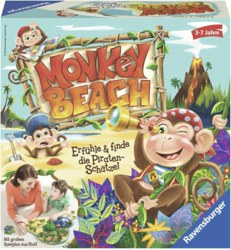 103-211814 Monkey Beach Lustige Kinderspi