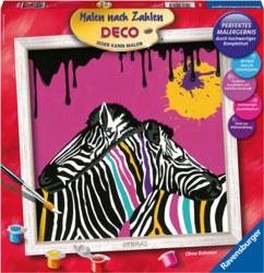 103-290185 Malen nach Zahlen - Deco Zebra