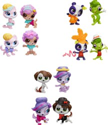110-A8232EU4 Littlest Pet Shop Fashionshow