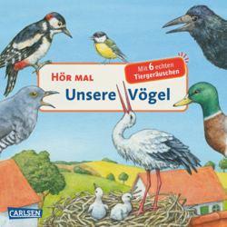 114-125008 Hör mal: Unsere Vögel  Carlsen
