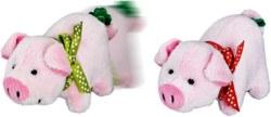 117-10793 Glücksschweinchen Mit Plüsch,