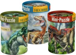 117-14790 Mini-Puzzles, T-Rex World Spie