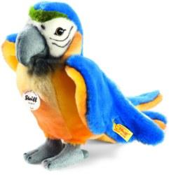 120-063879 Lori Papagei blau/gelb stehend