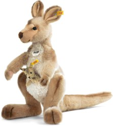 120-064623 Känguru Kango 40 cm mit Baby s