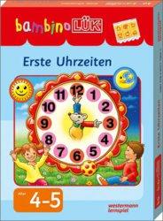 131-247860 bambinoLÜK-Set Erste Uhrzeiten