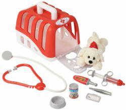138-4831 Tierarztkoffer mit Hund und Zu