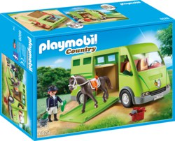 140-6928 Pferdetransporter Playmobil Co