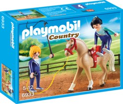 140-6933 Voltigier-Training Playmobil C