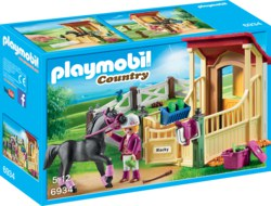 140-6934 Pferdebox Araber Playmobil Cou