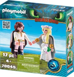 140-70045 Astrid und Hicks PLAYMOBIL® Dr