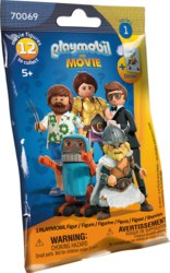 140-70069 PLAYMOBIL: THE MOVIE Figures (