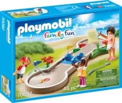 140-70092 Minigolf ab 4 Jahren, Playmobi