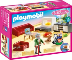140-70207 Gemütliches Wohnzimmer PLAYMOB