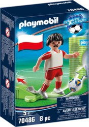 140-70486 Nationalspieler Polen Playmobi