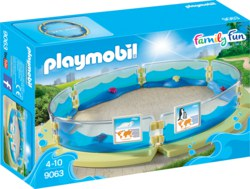 140-9063 Meerestierbecken Playmobil Fam