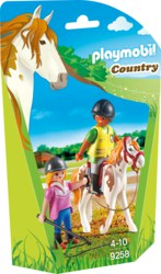 140-9258 Reitlehrerin Playmobil Country